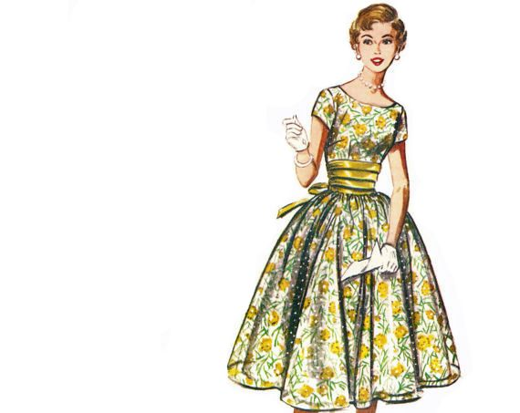 Vintage Illustration Fashion