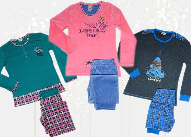 Women's Cotton winter Pajamas by SexyMelia