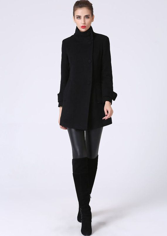 94 best Fashion - Women's images on Pinterest | Wool coats, Black ...