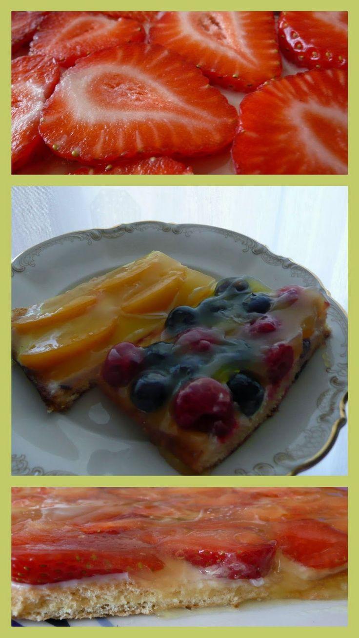 Летние десерты с фруктами и ягодами