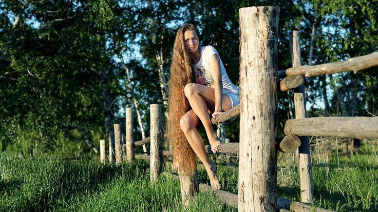 Русская Рапунцель отрастила роскошные волосы длиной больше метра (22фото) » Невседома - жизнь полна развлечений