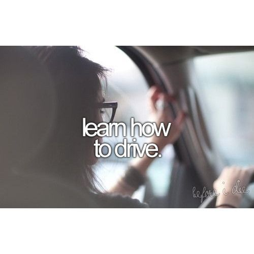 So I know how to drive... so lets say, learn how to drive a motorcycle :)
