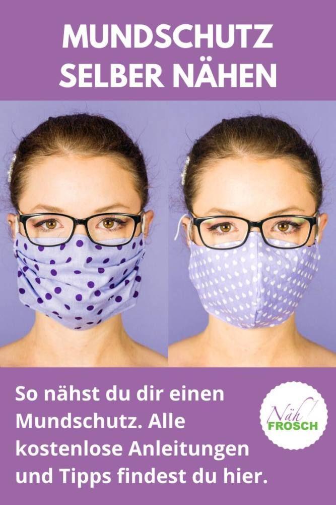 Mundschutz selber nähen: Kostenlose Anleitungen zum ...