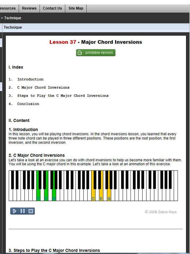 how to play piano keyboard chords