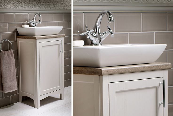 All downton units are supplied with an optional plinth #downton #downtonshaker #bathroomfurniture #myutopia
