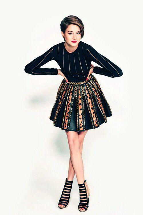 Shailene Woodley for Modern Luxury
