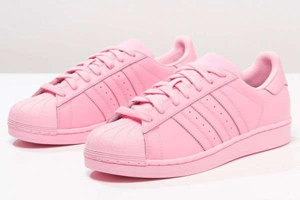 adidas superstar pink colour