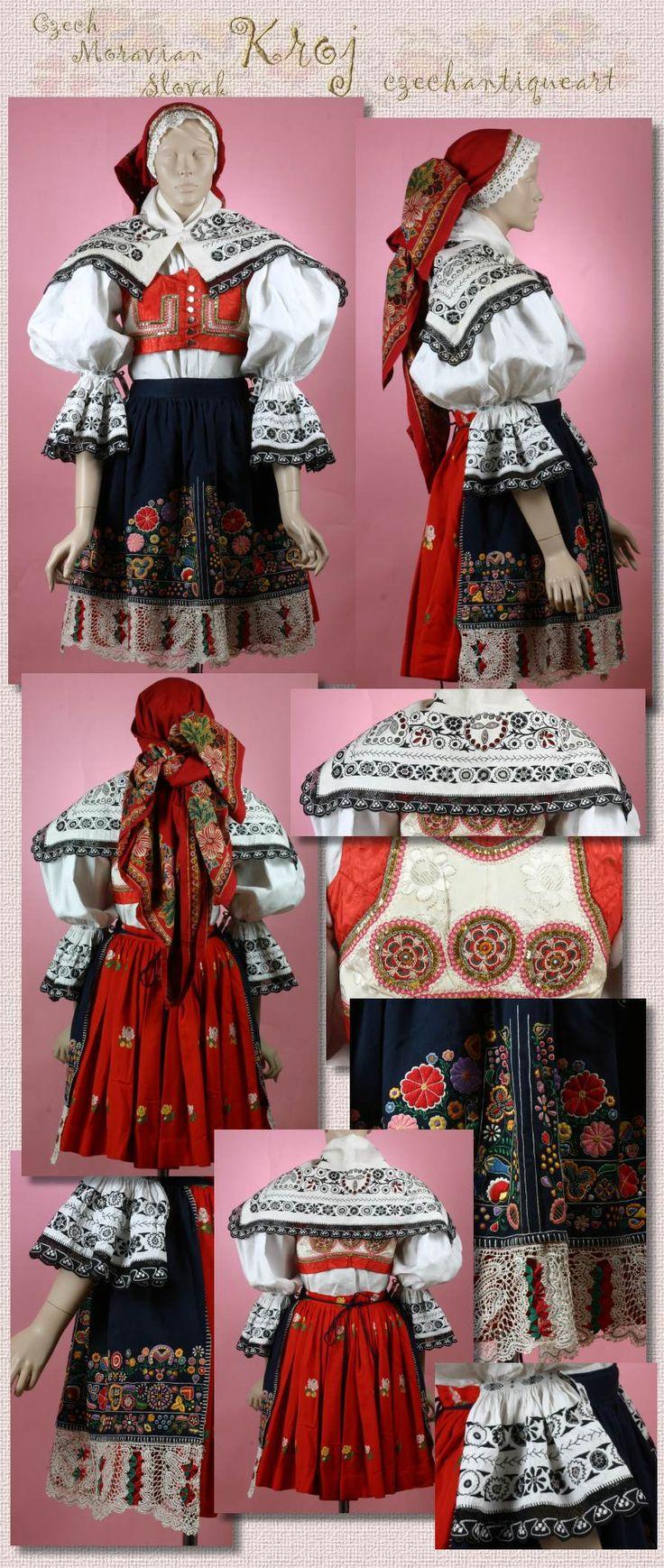 Kyjov folk costum; http://www.czechgallery.com/museum/image/kyjov-youngwoman.jpg