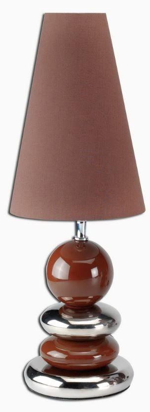 Επιτραπέζιο φωτιστικό Silver Brown  Τιμή: €52,00 http://www.lovedeco.gr/p.Epitrapezio-fotistiko-Silver-Brown.768818.html