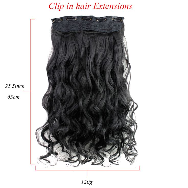 36 best 5 clip hair extensions images on pinterest hair stores fashion hair extension long synthetic clip in extensions curly hair piece party wave clip hair pmusecretfo Gallery