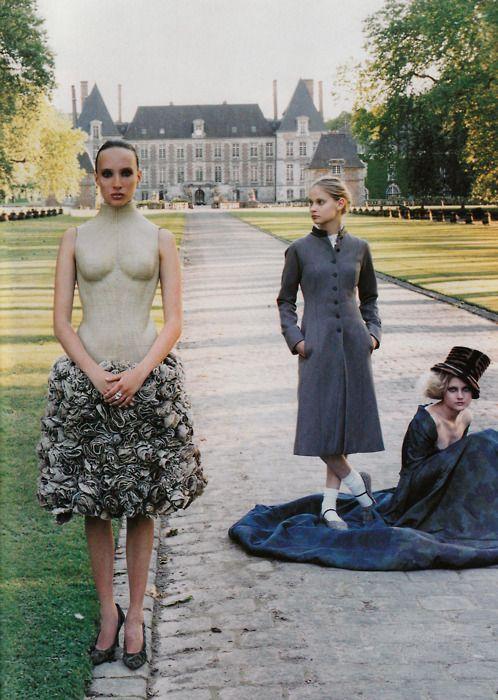 'Masquerade' by Ruven Afanador for Elle US, September 2000
