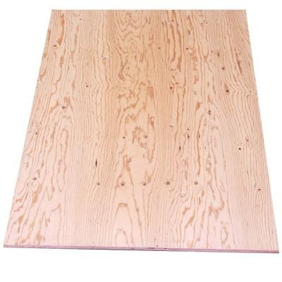 11/32 in. or 3/8 in. x 4 ft. x 8 ft. 3 Ply BC Sanded Fir Plywood-660326 at The Home Depot