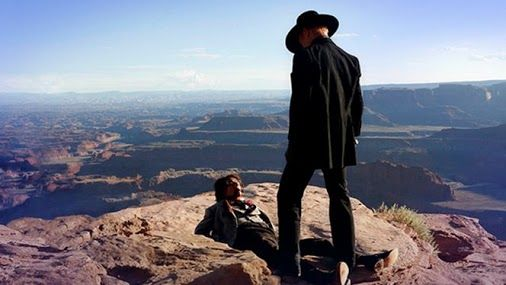 """""""The new (might be a reboot) series of Westworld is a world builder instead of a one a chaotic story. It adds mystery and intrigue plus a bit of philosophy to the whole nature of robotics, and AI-s."""" #westworld #scifi #seriesreview https://ps4pro.eu/2016/10/05/westworld-s01e01-a-new-frontier-for-the-rich/"""