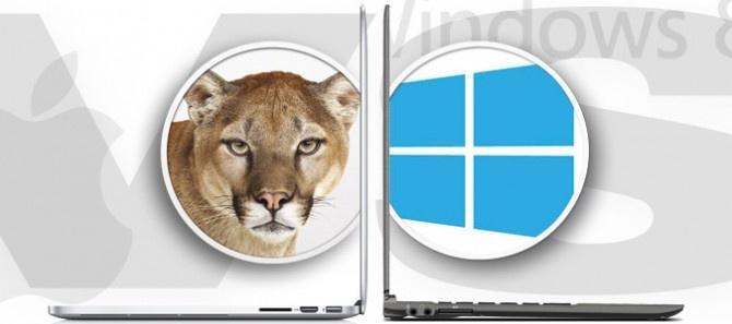 Windows 8 vs OS X Mountain Lion: Laptops Buy, Tech War, Technology Tutorials, Windows, Mountain Lion
