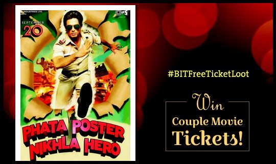 Buzzintowners! Get set to win Free movie tickets to this week's big release, Phata Poster Nikla Hero... http://www.buzzintown.com/bollywood-news--phata-poster-nikla-hero-contest-win-free-couple/id--8849.html/  #Bollywoodmovies #movies2013