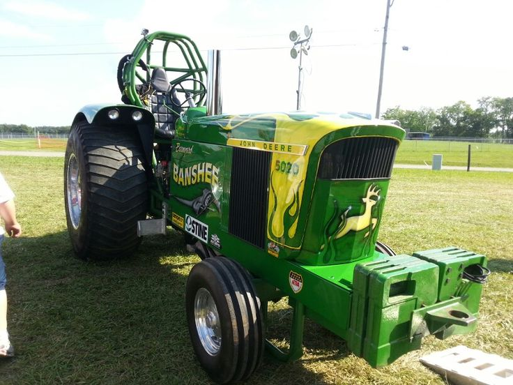 John Deere Super Stock Pulling Tractors : Best images about truck tractor pull on pinterest