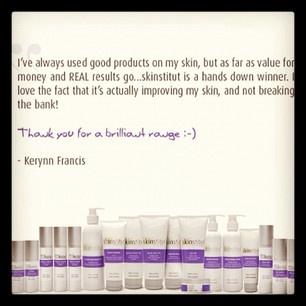 Skinstitut. Happy Customers. Quotes.