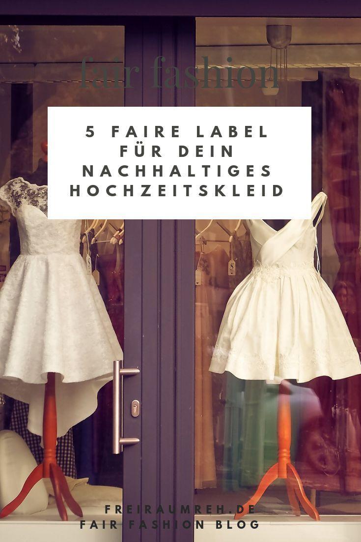 Nachhaltige Brautkleider in 20  Brautkleid, Kleider, Braut
