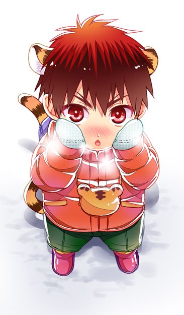 kagami, child, tiger, winter, https://twitter.com/Gomikuzu_Ojisan/status/560315233814585344
