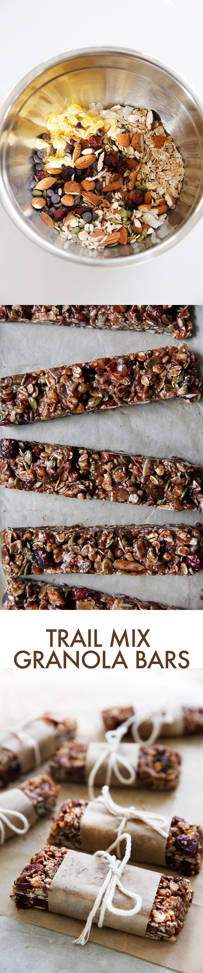 Trail Mix Granola Bars (gluten-free) | Lexi's Clean Kitchen