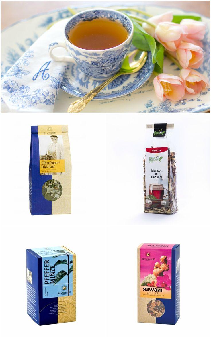 Rece sau fierbinte, ceaiul poate însoți micul dejun și în zilele de vară. Iată 4 recomandări de sezon: ceai ușor dulce, din frunze de zmeur, ceai revigorant de merișor și căpșuni, ceai răcoritor de mentă sau un mix aromat de ghimbir și fructe. Descoperă mai multe sortimente pe http://realfoods.ro/.