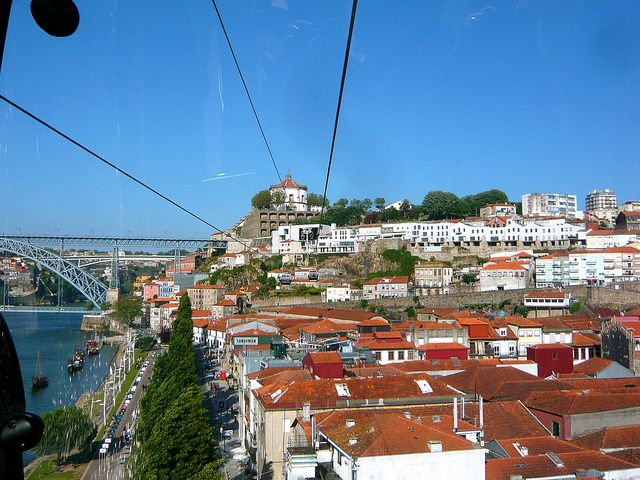 View from the cable car | Flickr - Photo Sharing! Gaia, Portugal