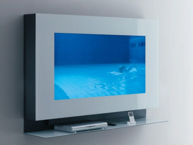Wall-mounted TV cabinet MEDIA CASE New Concepts Collection by Acerbis International | design Massimo Castagna