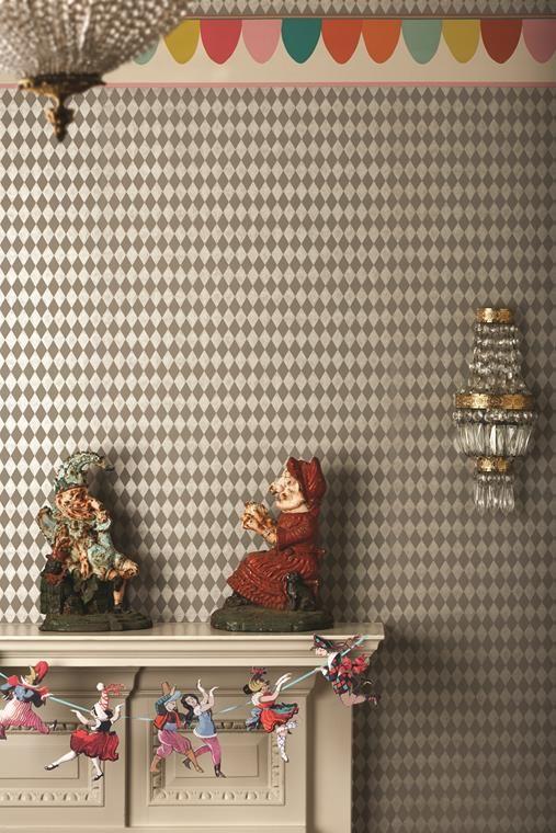 Tapet Titania från Cole & Son i butik och online hos Engelska Tapetmagasinet | Barnrum | Harlequin | Bård | Whimsical | Wallpaper | Kids Room