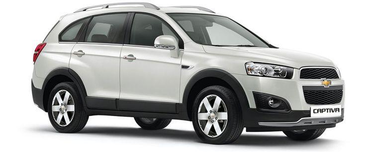 Buy New Chevrolet Captiva Cars in India
