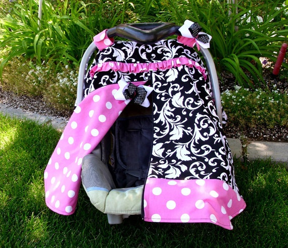 Car Seat Canopy With Zipper Baby Things Pinterest