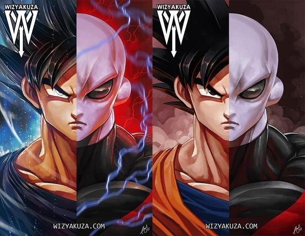 3d Transition Unparalleled Power Lenticular Print Lenticular Printing Anime Dragon Ball Super Dragon Ball Art