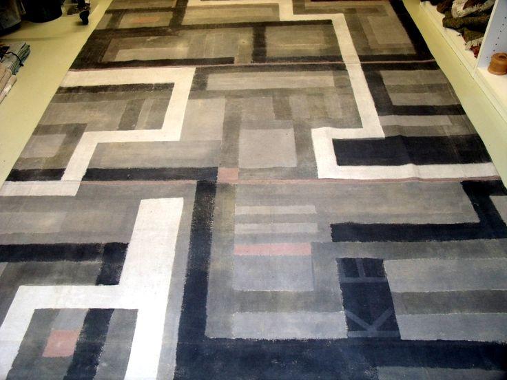 leinenteppich farbig gestaltet wohnen pinterest. Black Bedroom Furniture Sets. Home Design Ideas