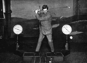 Golf Swing Training Aid Circa 1914