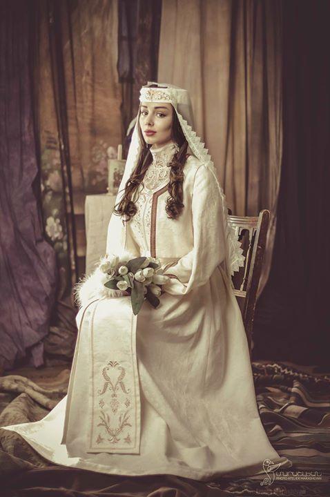 Armenian Wedding Garment by NATA BRETTELL www.natabrettell.com Photo by Photo Atelier Marashlyan