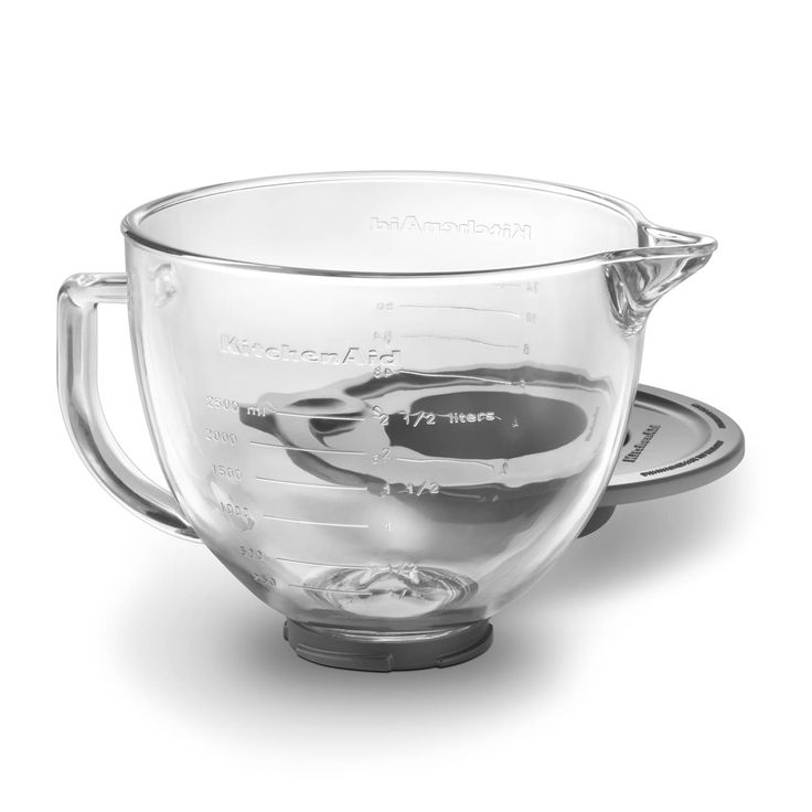 KitchenAid® Glass Bowl with Lid | Sur La Table