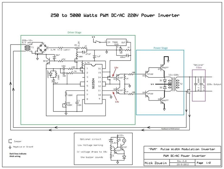 21 best inversores pwm images on pinterest circuits chips and dc ac 250 to 5000 watts pwm dcac 220v power inverter schematic designcircuit asfbconference2016 Image collections