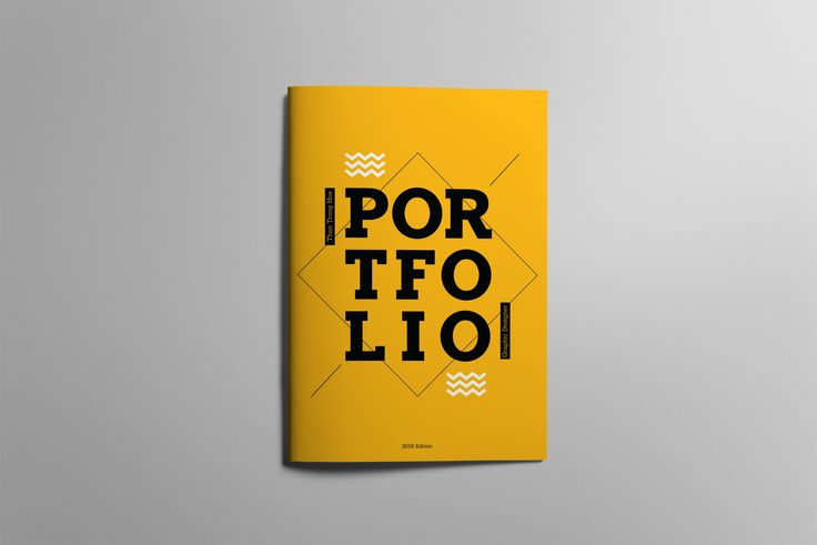 Portfolio Cover Design by TrongHoa