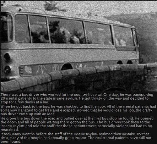 Creepypasta picture-story #40: Insane Asylum - Horror/creepy short stories