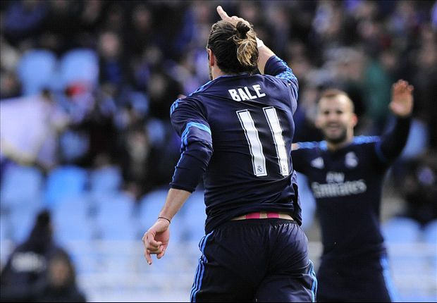 10 in a row: Bale plays Ronaldo role to keep Madrid in the title race