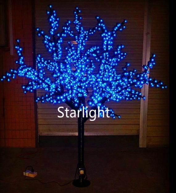 6 5ft 2m Outdoor 864pcs Leds Cherry Blossom Tree Light Wedding Home Decor Red Blue Green Yellow Pink Purple Pure White Warm White For Option In 2021 Outdoor Led Christmas Lights Cherry Blossom Tree Blossom Trees