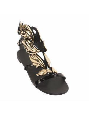 AILSA Leaf Flat Sandals #jessicabuurman #wishlist