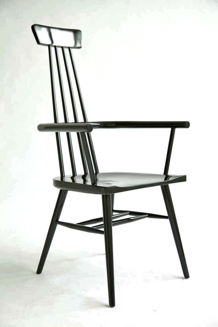 Paul McCobb High Back Windsor Chair | From a unique collection of antique and modern windsor chairs at https://www.1stdibs.com/furniture/seating/windsor-chairs/