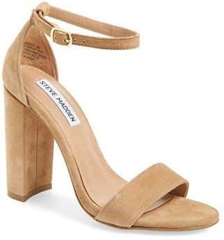 Steve Madden 'Carrson' Heeled Sandal on ShopStyle