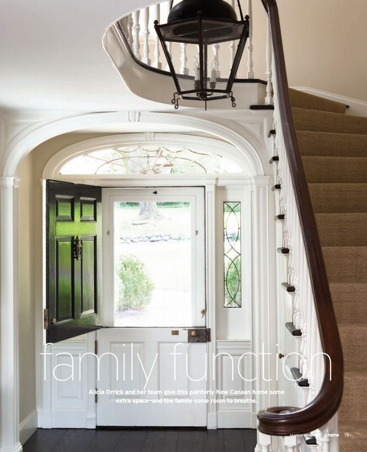 Dutch door with screen but would want small windows up top to let130 best Dutch Doors images on Pinterest   Dutch doors  Front  . Dutch Doors Exterior With Screen. Home Design Ideas