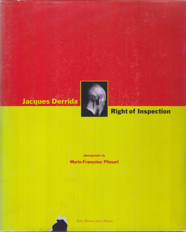 Jacques Derrida – Right of Inspection