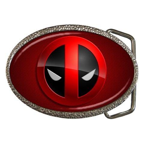 Deadpool Belt Buckle