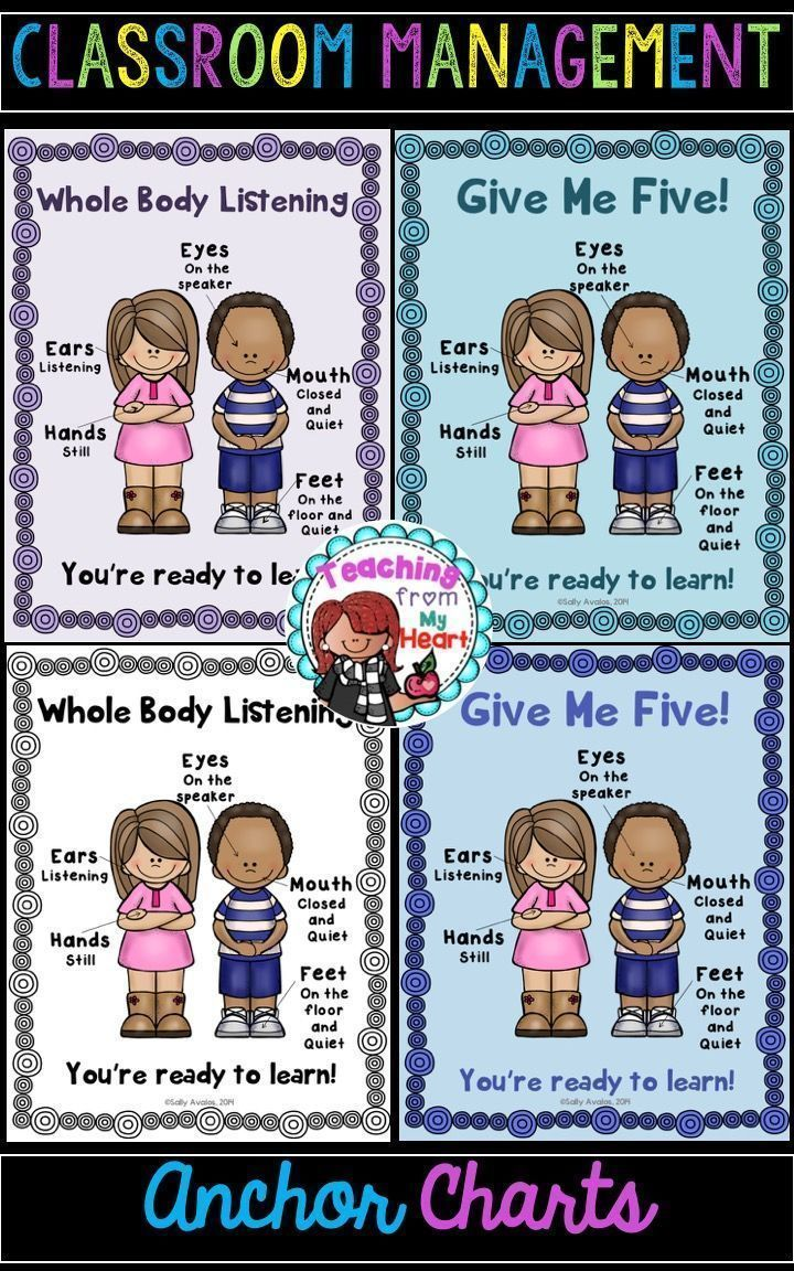 Whole Body Listening and Give Me Five are great classroom management strategies to incorporate at the beginning of the year and throughout. This is a set 10 of posters to help you use these attention grabber signals using engaging visuals.