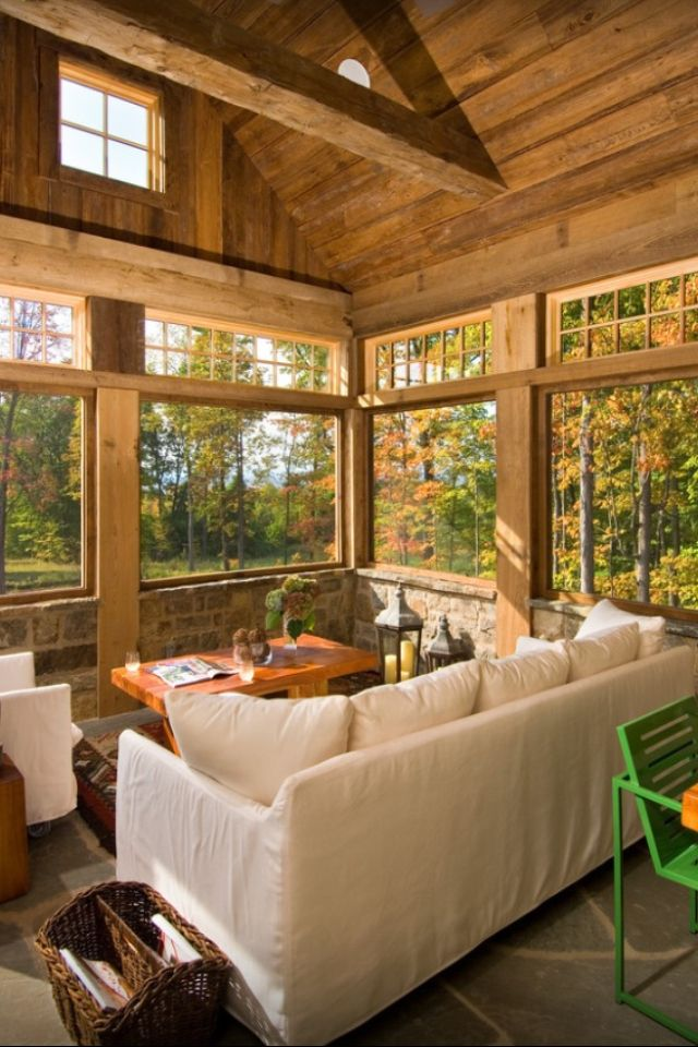 11 best 4 season rooms images on pinterest 4 season room for Farmhouse sunroom ideas
