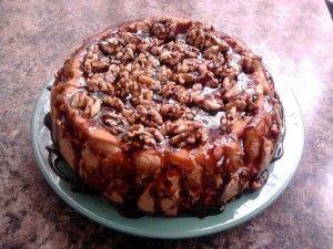Cake de Nueces - Recetas Judias                                                                                                                                                                                 Más