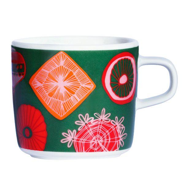 Rati Riti Ralla coffee cup, 2 dl, by Marimekko.